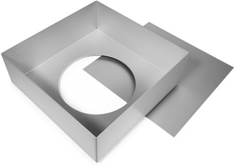 Cake Alan Silverwood - 33cm Silver Anodised Square Deep Pan with Removable Base