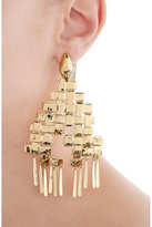 Aurelie Bidermann Iroquois 18kt Gold Plated Earrings