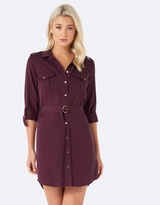 Forever New Brooke Military Shirt Dress