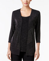 Alfred Dunner 'Tis The Season Layered-Look Sweater