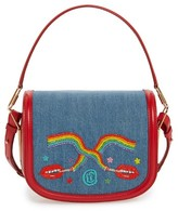 Olympia Le-Tan Dutchies Crossbody Bag - Blue