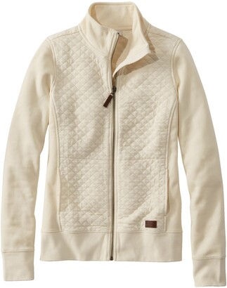 L.L. Bean Quilted Sweatshirt Jacket