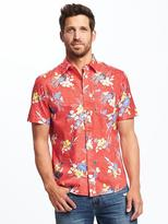 Old Navy Regular-Fit Soft-Washed Getaway Shirt for Men