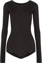Rick Owens Stretch-jersey Bodysuit - Black