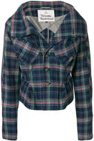 Vivienne Westwood fitted check jacket