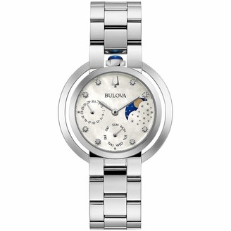 Bulova Women's Multi Dial Quartz Watch with Stainless Steel Strap 96P213