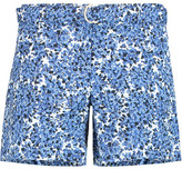 MICHAEL Michael Kors Belted Printed Cotton-Blend Shorts