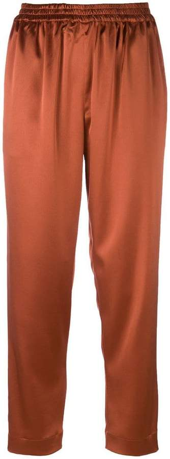 Gianluca Capannolo cropped straight trousers