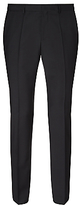 Hugo Boss Hugo Huge/genius Virgin Wool Slim Fit Suit Trousers, Black