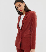 Asos DESIGN Tall suit blazer in velvet