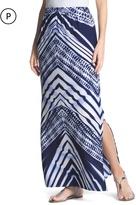 Chico's Chevron Stripe Maxi Skirt