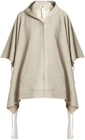 MM6 MAISON MARGIELA Tie-side cotton hooded sweatshirt