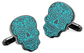 Cufflinks Inc. Day Of The Dead Glow Cufflinks