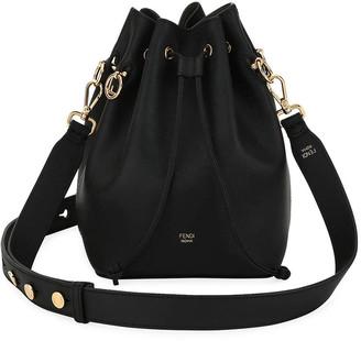 Fendi Mon Tresor Grande Calf Leather Bucket Bag