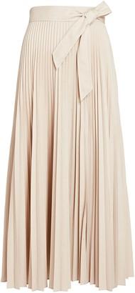 Intermix Estelle Pleated Midi Skirt