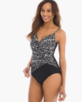 Chico's Between the Pleats Aragon One-Piece Swimsuit