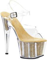Pleaser USA Women's Adore 708SRS Platform Sandal