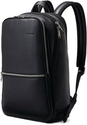 Samsonite Slim Leather Backpack