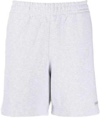 adidas Originals x Pharrell Williams Embroidered Logo Track Shorts