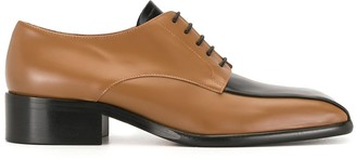 Marni Cordovan two-tone lace-up shoes