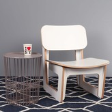 Fab Drum Side Table Gray