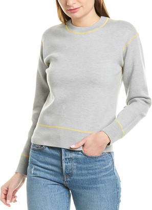 Rag & Bone Shannon Wool-Blend Sweatshirt
