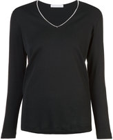 Fabiana Filippi V neck sweatshirt