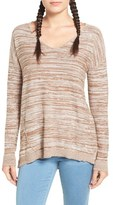 BP Women's Marl V-Neck Pullover