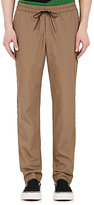 TOMORROWLAND Men's Cotton Twill Drawstring Trousers