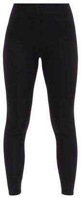 Commando High-rise Stretch-jersey Leggings - Black