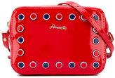 Simonetta studded shoulder bag - kids - Patent Leather - One Size