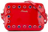 Simonetta studded shoulder bag - kids - Patent Leather - One Size