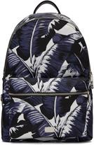 Dolce & Gabbana Multicolor Banana Leaves Print Backpack