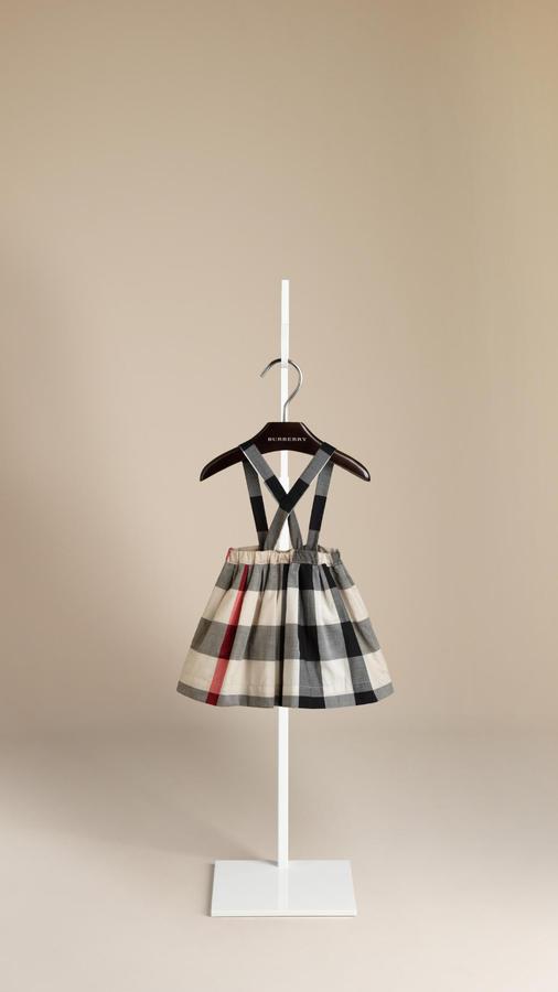 Burberry Shoulder Strap Skirt