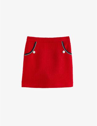 Claudie Pierlot Sirot tweed mini skirt