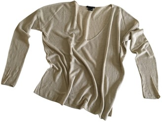 Theory Beige Linen Top for Women