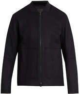 Vince Raw-edged Wool And Cashmere-blend Jacket