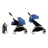 Babyzen Complete New YOYO+ Convertible Stroller 0-5 years, White Frame