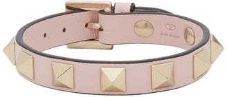 Valentino Pink Garavani Rockstud Bracelet