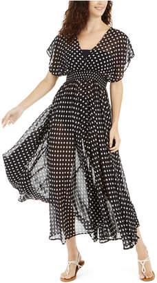 Kate Spade Polka Dot Swim Cover-Up Dress Women Swimsuit