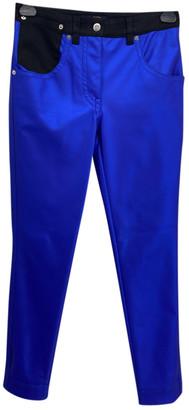 Louis Vuitton Blue Polyester Jeans