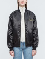 Joyrich New World Embroidered Satin Jacket