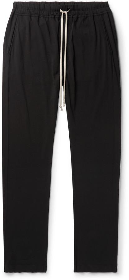 Rick Owens Berlin Tapered Cotton-Jersey Sweatpants