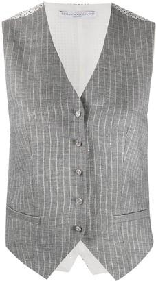Ermanno Scervino Pinstriped Waistcoat