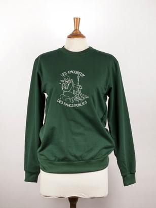 Tricote moi un tatoo - Emerald Green Sweatshirt - S - M