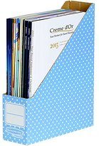 Fellowes Bankers Box Style Magazine File - Blue/White, Pack of 10