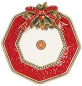 Fitz & Floyd Damask Holiday Platter
