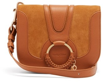 See by Chloe Hana Small Suede And Leather Cross-body Bag - Tan
