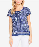 Vince Camuto TWO By Geo-Print Top