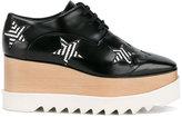 Stella McCartney Elyse flatform shoes - women - Artificial Leather/rubber - 35
